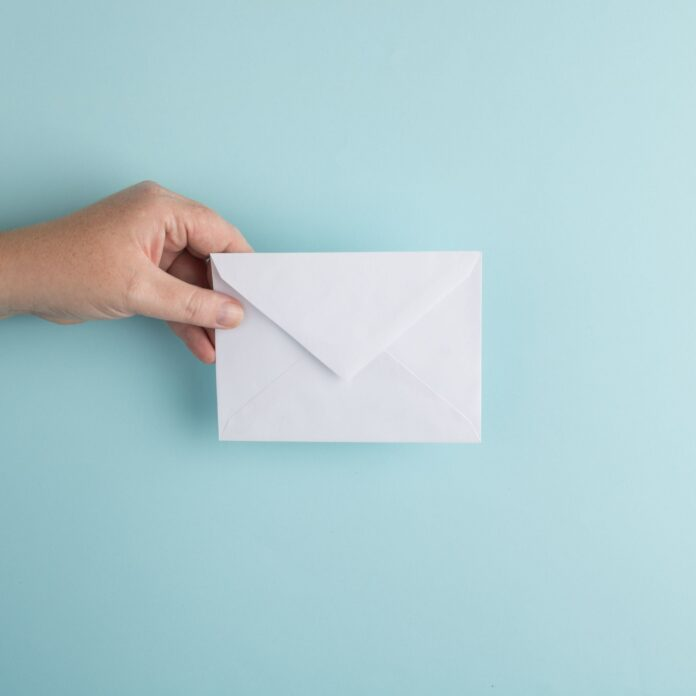 list, letter, mail